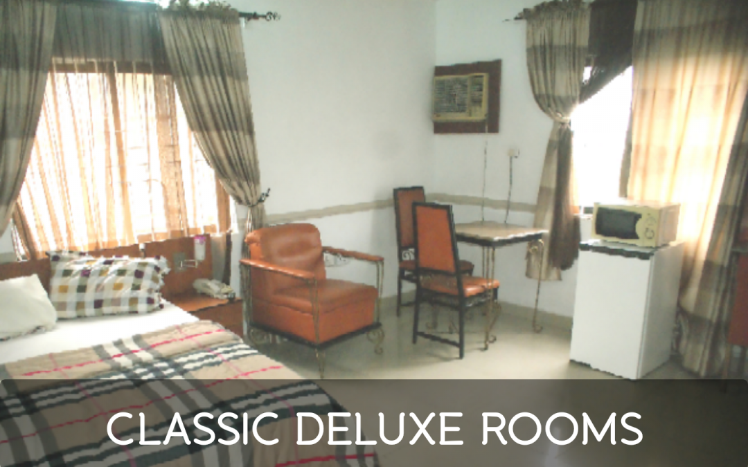 Classic Deluxe Rooms (N9,900 /Once / Accomodation)